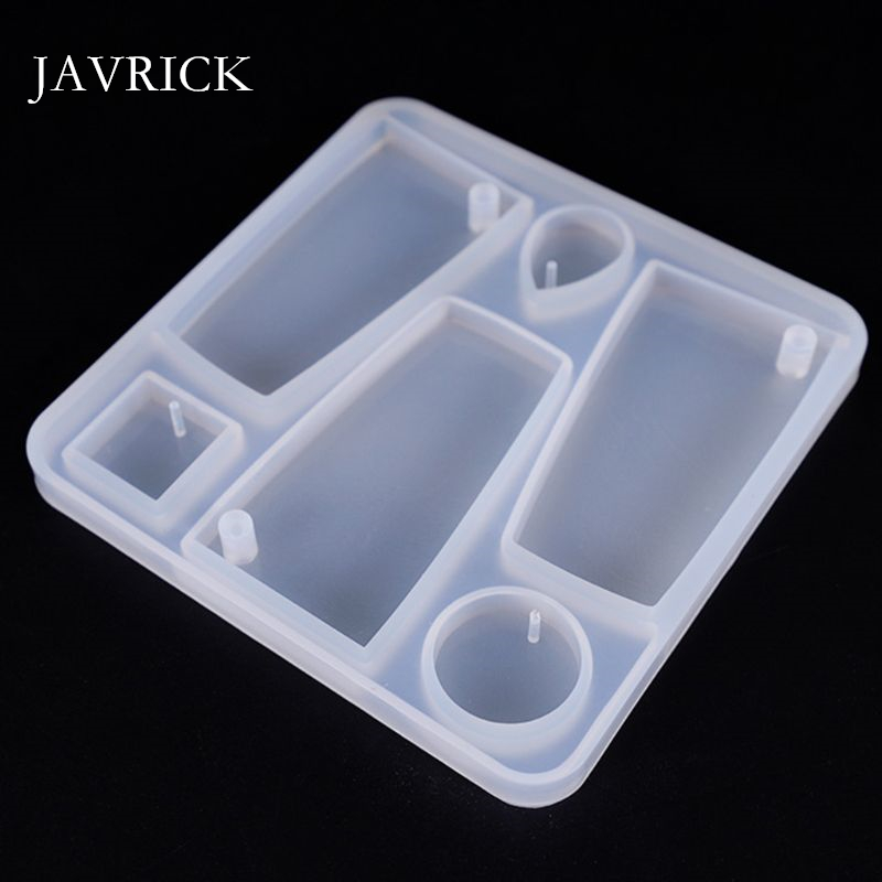 Silicone Acrylic Earring Necklace Pendant Mold Resin Casting Mold Craft Tool DIY Pendant Accessories Jewelry Making Tool