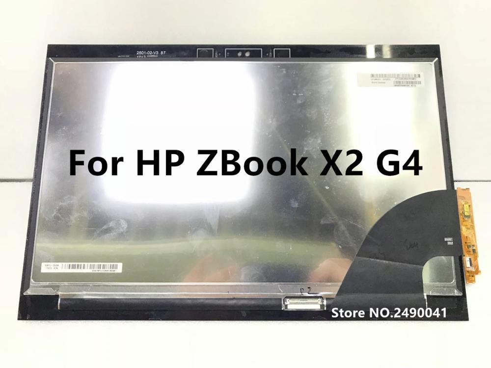 Pantalla LCD de envío gratis 14 con táctil para HP ZBook X2 G4 3840*2160 4K UHD - 3