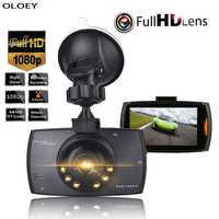 """Smart Guida Registratore da 2.4 """"Full HD 1080P di Visione Notturna di HD Dash Cam Macchina Fotografica Dell'automobile DVR Video Recorder di Guida 140 Gradi Ampio Angolo di"""