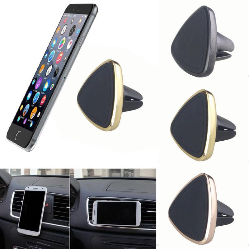 Universal Car Air Vent Phone Holder GPS Stand Magnetic Phone Holder In Car GPS Mount Magnet Stand Car Phone Holder
