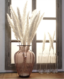7 Slices Of Reed Grass Reed Natural Dry Reed Grass Artificial Plant Wedding Bouquet Home Decoration Fake Flower