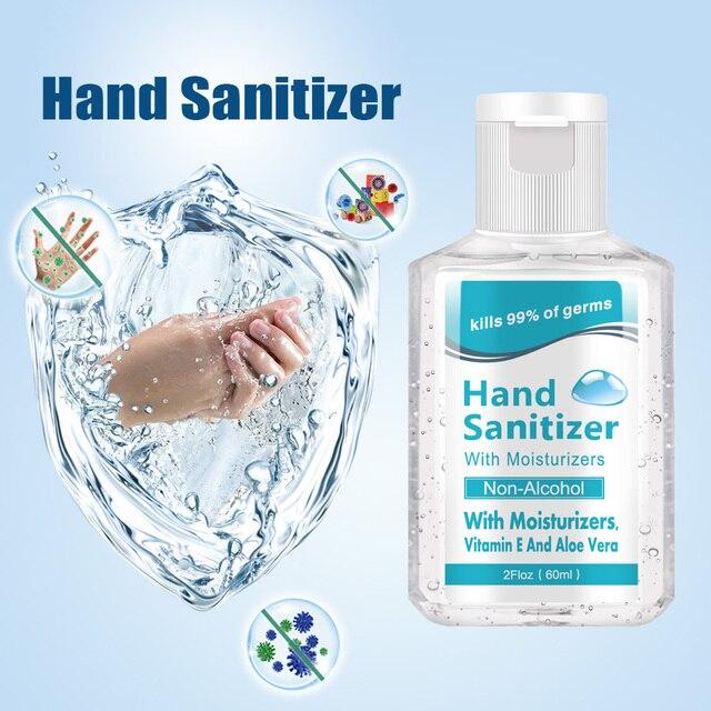 أداة قياس مستوى الكحول أحادية الاستعمال خالية من معقم اليدين مع 75% محتوى الكحول 60 مللي يقتل 99% من الجراثيم