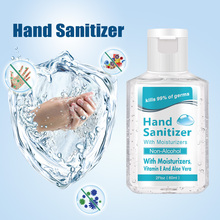Disposable alcohol free hand sanitizer with 75% alcohol content 60ml kills 99% of germs