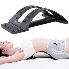 Массажер для спины растяжитель фитнеса поддержка поясницы релаксация