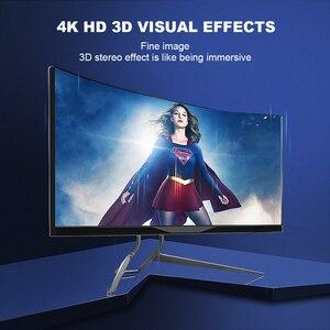 Image 4 - FSU HDMI Splitter 4อินพุต1เอาต์พุตHDMI HDR 4X1สำหรับHDTV PS4 4K Audio extractor 3.5แจ็คARC HDMI Switcher Adapter