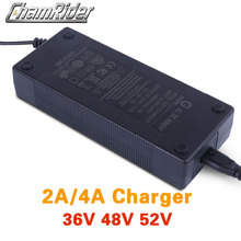 2A ebike зарядное устройство 36 в 42 в 48 в 54,6 в 52 в 58,8 в литий-ионный аккумулятор зарядное устройство электрический велосипед DC XLR RCA вилка США ЕС