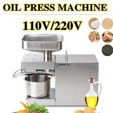 1500W 110V/220V automatische kaltpressung öl maschine, öl kaltpressung maschine, sonnenblumen samen öl extractor, olivenöl presse extrakt