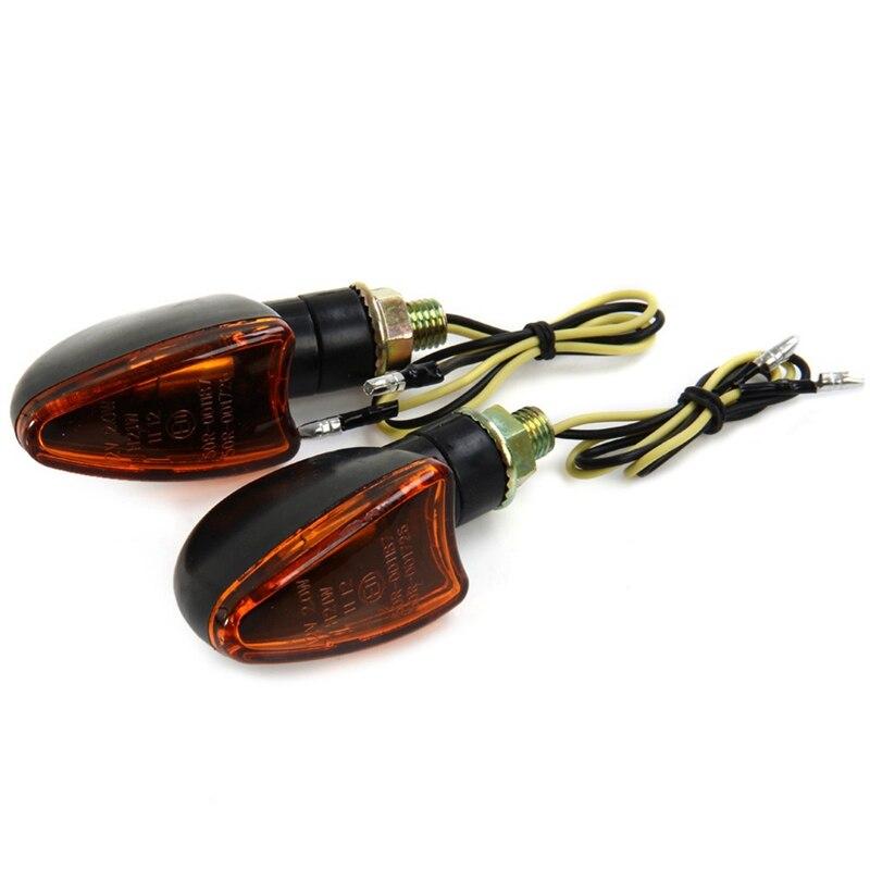 2 шт./пара универсальный мотоцикл Led Singal светильник s лампы индикаторы для мотоцикла мигалки светильник лампочка