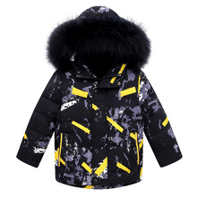 2019 Winter Jacket For Boys Hooded Warm Duck Down Boys Camouflage Coat 3-14 Years Kids Baby Boys Snowsuit Teenagers Parka children duck down jacket for boys teenager outerwear hooded girls winter coat thick kids snowsuits long parka 3 6 10 years