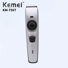 Kemei KM-7507 Professional Hair Clipper Rechargeable Electric Trimmer Mens Quality Material Hairdressing Supplies