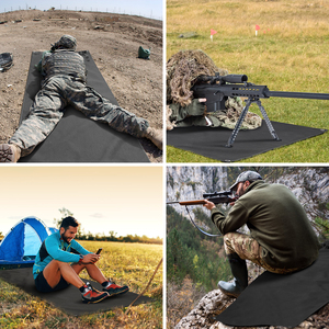 Image 5 - 1000D Tactical Shooting Mat Lightweight Roll Up Camping Mat Non slip Hunting Gun Pad Waterproof Picnic Blanket Hunting Accessory