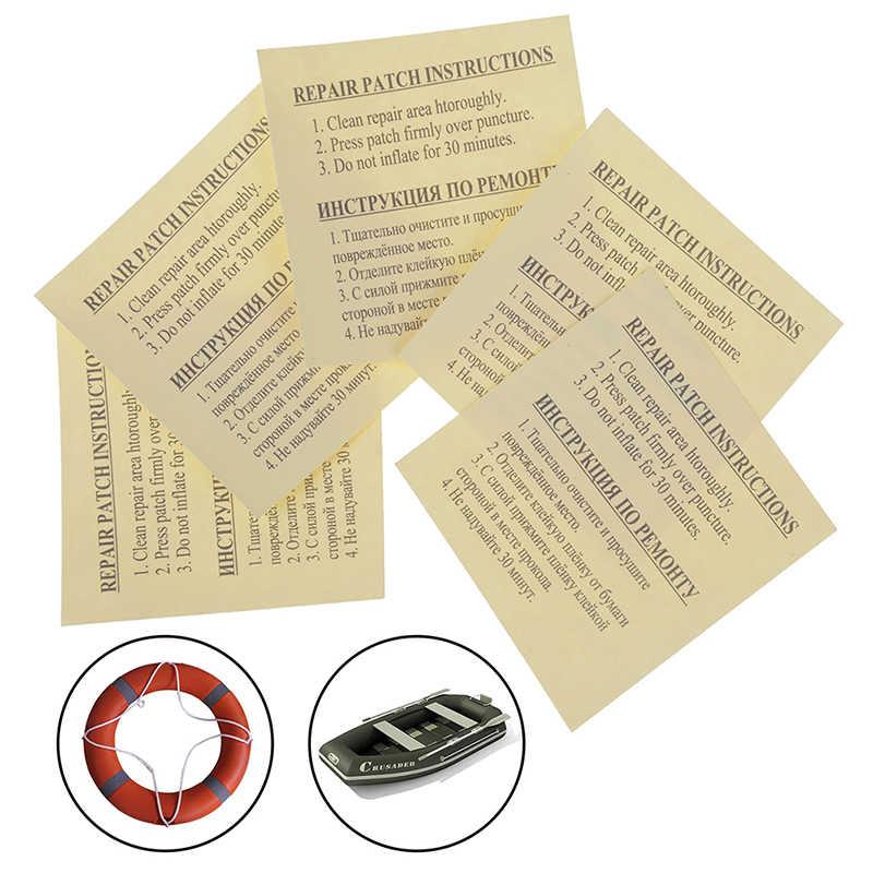 2 Pcs/5 Pcs Pvc Puntura Piscine Galleggiante Letto Aria Gommoni Circolare Toppe E Stemmi Adesivo di Riparazione Patch per Il Gonfiabile giocattolo