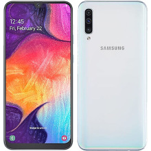Used Samsung Galaxy A50 A505FN DS smartphones 128G ROM 4G LTE Octa core 6 4  25MP 8MP 5MP Android mobile phones unlocked celular