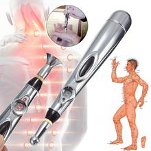 Electronic Acupuncture Pen Electric Meridians Laser Therapy Heal Massage Pen Meridian Energy Pen Rel