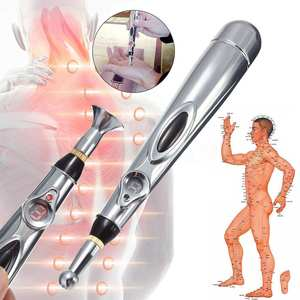 Pen Massage-Pen Electronic-Acupuncture-Pen Pain-Tools Heal Meridian-Energy Laser-Therapy