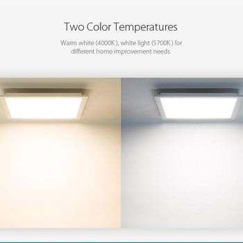YEELIGHT رقيقة جدا لوحة الصمام IP50 مصباح السقف الغبار النازل اللاسلكية واي فاي التحكم للمطبخ الحمام 1