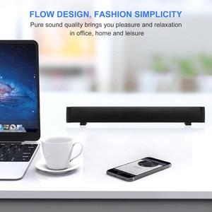 Image 2 - 블루투스 사운드 바, 홈 시어터 서라운드 사운드 용 휴대용 유선 및 무선 미니 사운드 바 스피커