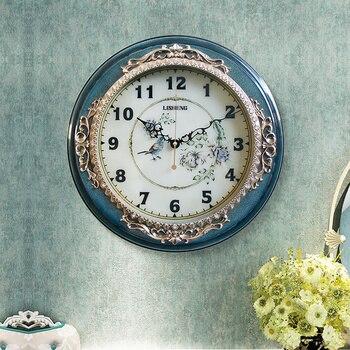 3d Wall Clock Vintage Large Silent Living Room Modern Minimalist Creative Retro Watch home Bedroom Keuken Klok Gift Ideas SC036