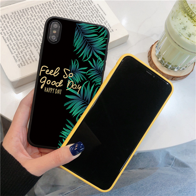 Fruit Flower Soft Phone Case For iPhone 7 Plus X XR XS Max 6 6S 7 8 Plus 5 5S SE 2020 Back Cover For iPhone 12 11 Pro Max Funda 3