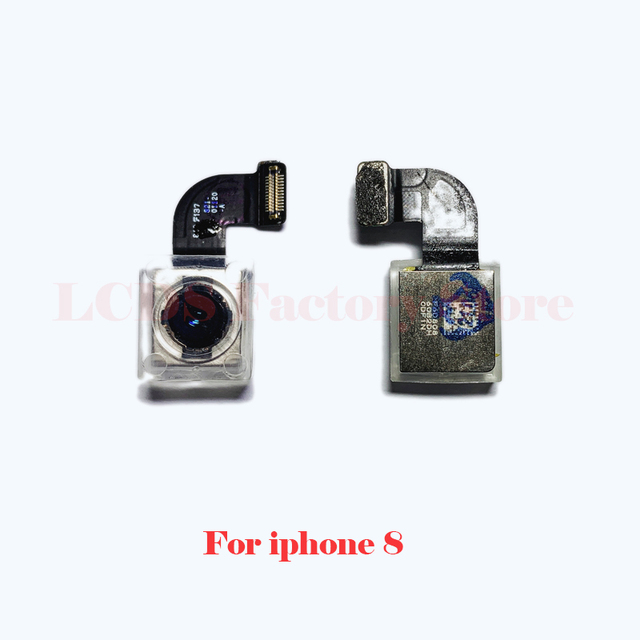 Original Camera For iphone 4S 5S 6 6s 7 8 Plus Back Camera Rear Main Lens Flex Cable Camera For iphone X XR XS MAX 11 PRO Camera 5