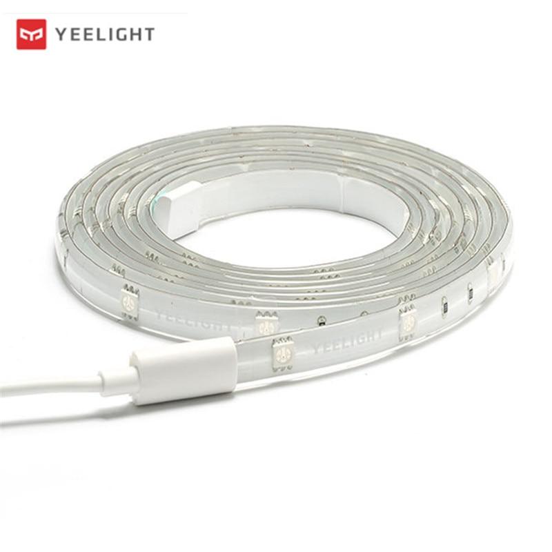 Yeelight YLDD04YL DC24V 2M Smart APP RGB LED Strip Light Work With Alexa EU Plug For Christmas Holiday Decor Lamp Lantern