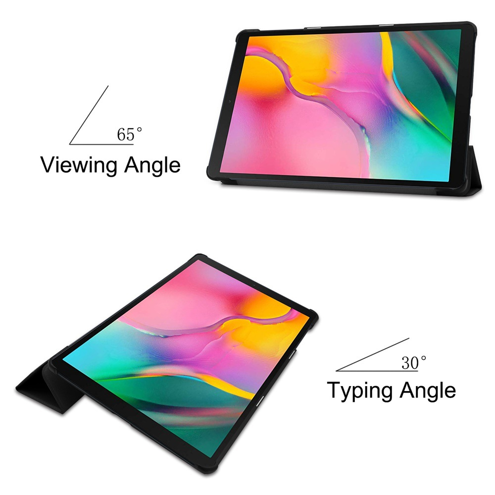 """Magnetic Case for Samsung Galaxy Tab A 2019 10.1""""8""""9.7""""S6 10.5""""S5E/Tab A7 10.4 2020 T500 T510 Case Stand PU Leather Tablet Cover-3"""