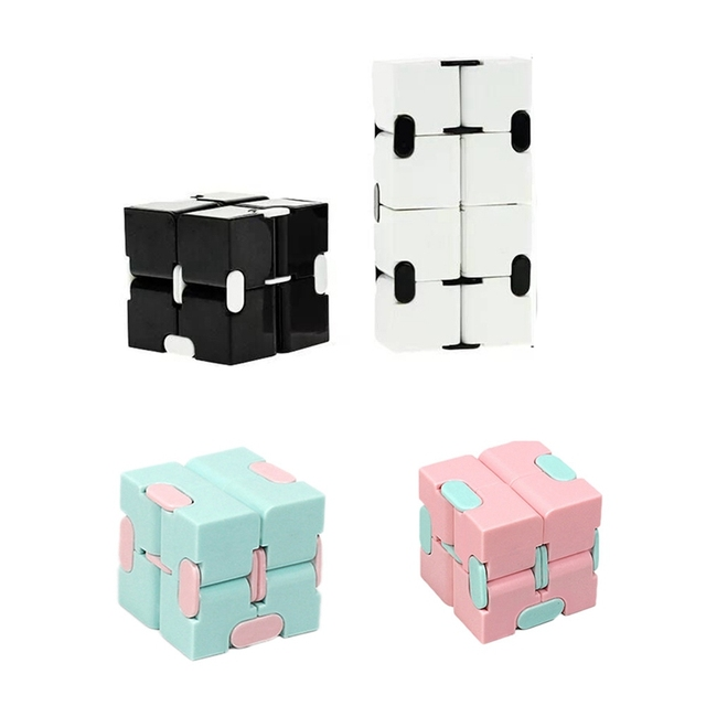 Magic Infinity Cube Decompression Toy for Children Adult Stress Relieve Toys Flip Cubic Puzzle Anti-anxiety Cube Toy Autism Gift 1