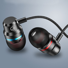 HIFI 3.5mm In-Ear Earphones Wired Stereo Earbuds Super Bass Sound Headset for Phones LHB99