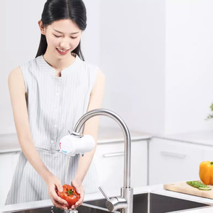 Image 5 - Youpin Xiaoda grifo de calefacción instantánea, calentador de agua eléctrico de cocina, grifo ajustable de temperatura fría y cálida de 30 50 °C
