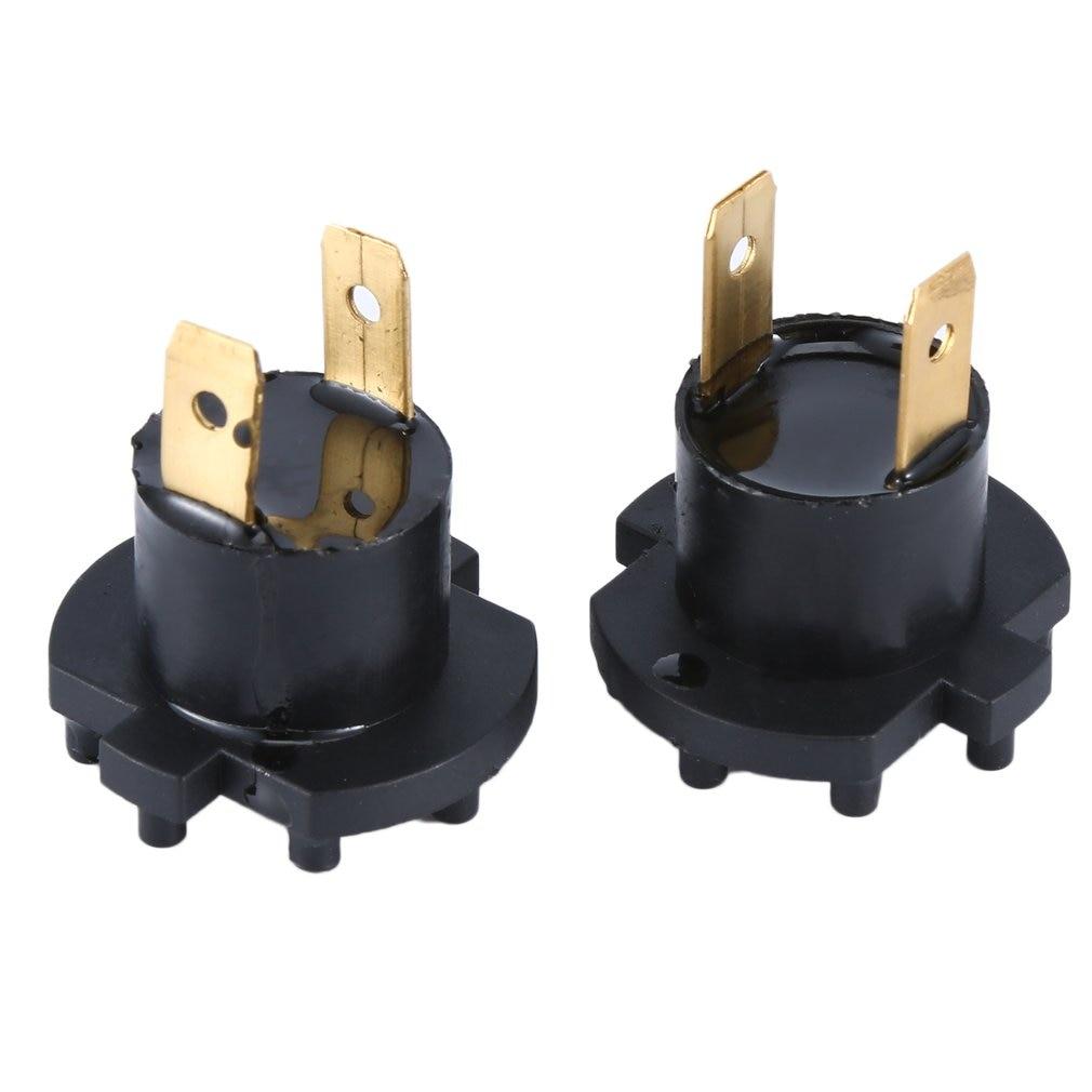New A Pair For Mazda 3 5 323 Headlight Bulb Bases Genuine For Mazda 2 De 3 323 Bk Bj Headlamp Socket H7 Globe Bulb Holder