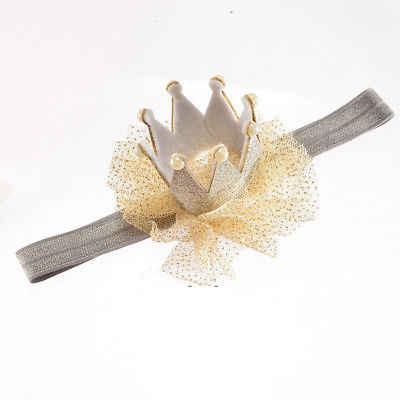 Thun Bé Trai Thái Đầu Vương Miện Công Chúa Băng Đô Quấn Tóc Ngọc Trai Tiara Ren Mũ Đợi Đầu Đa Năng 5 Màu Sắc Dễ Thương Đảng Kỷ Niệm Trang Trí