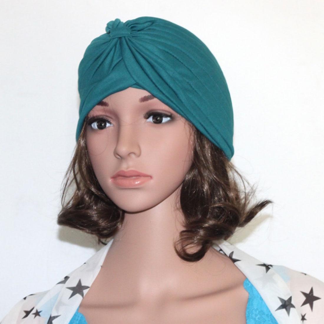 Хиджаб шарф тюрбан шапка s мусульманский головной платок Защита от солнца Кепка Женская хлопковая мусульманская многофункциональная тюрбан платок femme musulman - Цвет: 19