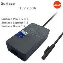 Xinco 15V 2.58A Microsoft için yeni yüzey Pro5 6 Laptop güç adaptörü 1800 1796 44W şarj yüzeyi pro 2