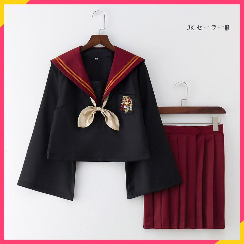 Costumes Potter Cosplay Movie Sailor Suit Girl Anime Women Cosplay Uniform Japan School Uniform