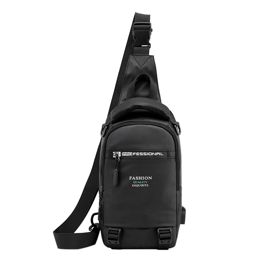Men's 2020 New Multifunction Crossbody Bag For Men Anti-theft Shoulder Messenger Bags Male Waterproof Short Trip Chest Bag Pack