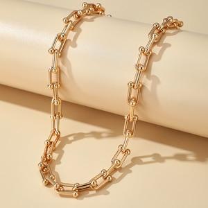 Tocona Böhmischen Gold Farbe Legierung Metall Kette Halsband Halskette für Frauen 2020 Trendy Einstellbar Partei Schmuck Großhandel 14956
