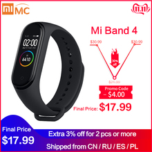 Xiaomi Bracelet Fitness-Tracker Miband Heart-Rate In-Stock Smart Original Screen Bluetooth5.0