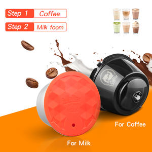 Foam-Capsules Latte-Maker COFFEE-FILTER Dolce Gusto Nescafe Refillable Milk