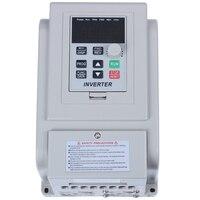 Barato Convertidor de frecuencia AC 220V convertidor de frecuencia Variable 1 5 kW VFD controlador de velocidad