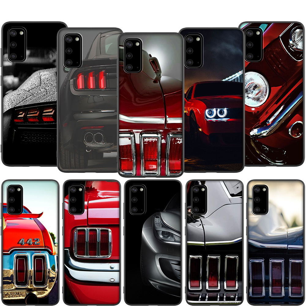 Lavaza CLASSIC MUSTANG TAIL LIGHTS Case for Samsung A01 A11 A21 A41 A2 Core A20e A70s J4 Core J7 Duo J4 J6 J8 Plus Prime image