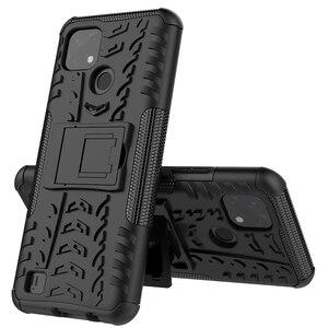 Image 1 - Voor Realme C21 Case Cover Voor Realme C21 Cover Coque Shockproof Armor Beschermende Telefoon Bumper Voor Realme C21