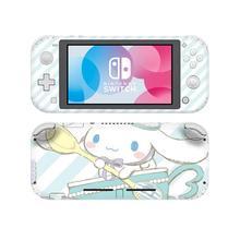 Cinnamoroll Laurel Dog skórka naklejka naklejka na Nintendo Switch Lite konsola Protector Mini Nintendo Switch Lite skórka naklejka