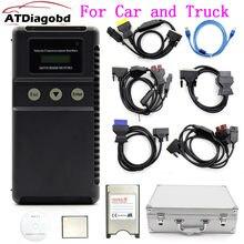 Alta qualidade profissional mut 3 testador para carro e caminhão ferramenta de diagnóstico mut iii com cf crad Mut-3