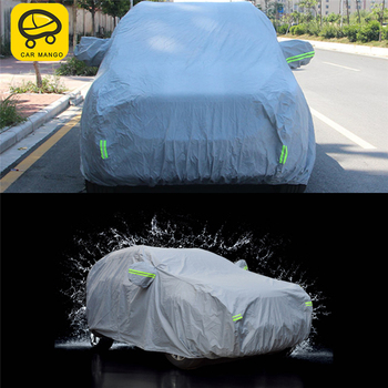 CAR MANGO Car Covers Waterproof Outdoor Sun Protection Cover Reflector Dust Rain Snow Protective For Ford KUGA Escape 2017 2018
