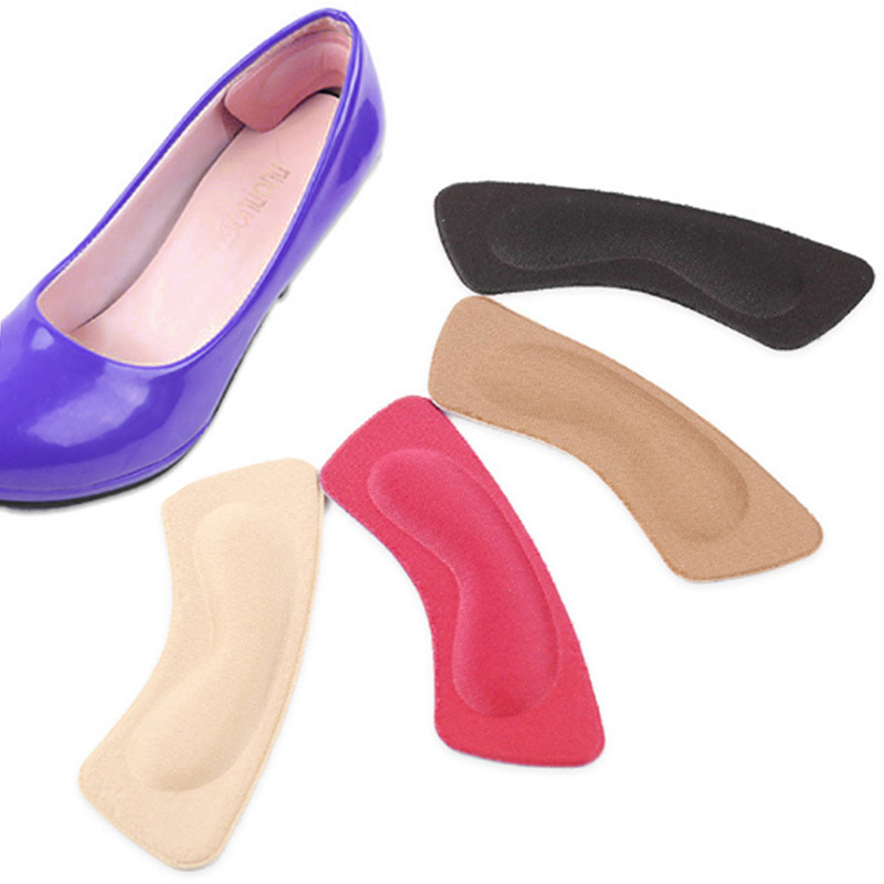 Thicken Foot Inserts Half Yard Adding To The Shoe Size Paste Sponge Heel Paste For High Heels Wear-resistant Relief Protector