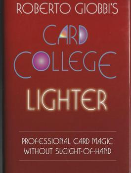 Roberto Giobbi - Card College Lighte / Card College Lighter / Card College Lightest  - magic trick millsaps college millsaps college catalog 1953 1954