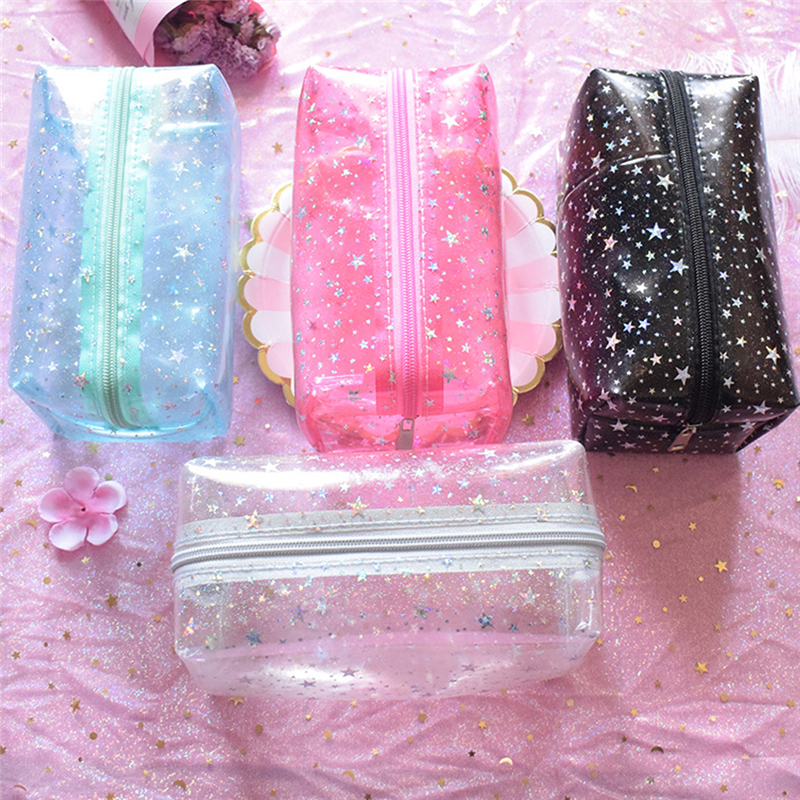 Women PVC Small Makeup Bags New Creative Travel Transparent Cosmetic Bag Wash Pouch Beauty Storage Case Toiletry Bag 2019