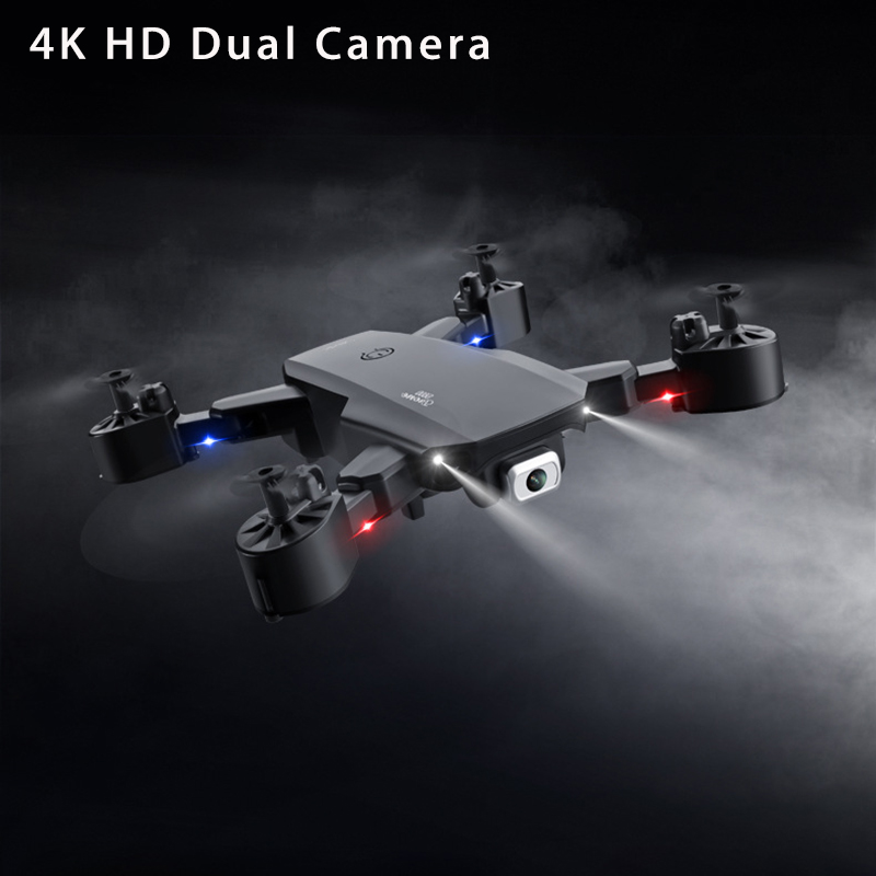 Mini Drone With Camera HD 4k Gps WIFI FPV Professional Aerial Photography Helicopter Foldable Quadcopter Dron Toys Dual Camera 1