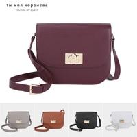 New Luxury Genuine Leather Handbags Women Designer Bag Lock Bag Versatile Shoulder Bag Female Messenger Crossbody Bags for Women