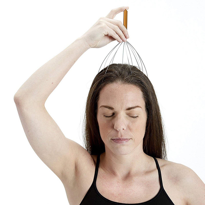 Octopus Shaped Scalp Massager for Relaxation from Stress and Tension Helps to Increase Blood Circulation 7